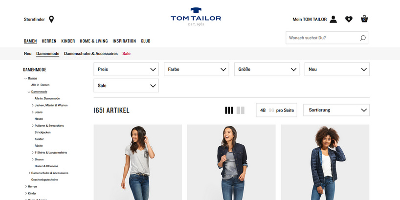 TOM TAILOR GROUP relies on novomind iPIM